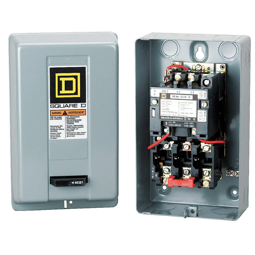 Square D Magnetic Motor Starter 25hp 460 Volt 3 Phase 50